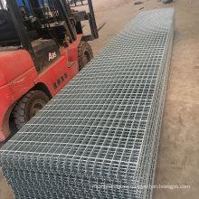 Hot Dipped Galvanized Grille Metal Floor Serrated Steel Bar Grating for Walkway Platform Construction