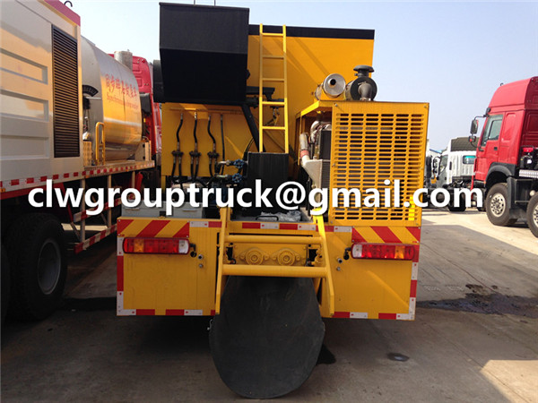Asphalt Slurry Seal Truck
