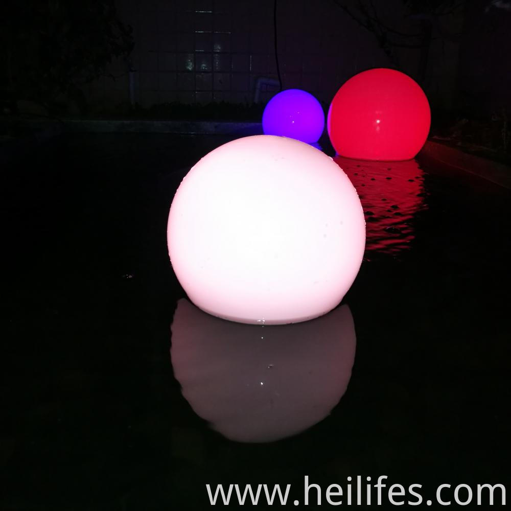 LED magic ball light
