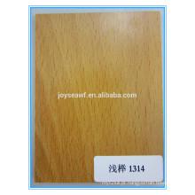 Folheado natural carvalho branco / maple / birch / cherry para decoração interior e exterior