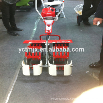 2018 HOT Gasoline engine 2 rows paddy weeder for rice