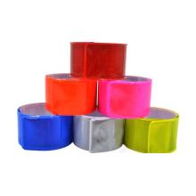 Material de PVC de bandas de corrida reflexivas de alta visibilidade