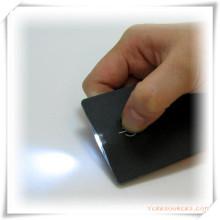 Mini linterna Ultra-delgada de la tarjeta del punto culminante LED para el regalo de la promoción