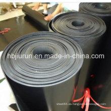 Láminas de caucho vulcanizado de flúor con tela insertada