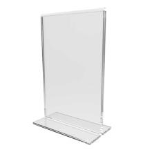 Sujetador de acrílico claro / soportes de soporte de menú