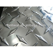 Feuille d'aluminium brillante cinq bar