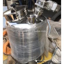 O tanque home da destilação do álcool do uso 30l / 50l / 100l / 200l, tanque de mistura com caldeira do destilador do agitador pode