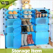 Hot Sale Shoe Display Wholesale Large Plastic Storage Cabinet