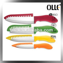 Professional Ceramic Colord Knives
