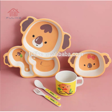 Baby Bowl Spoon Dishes Dinner Set