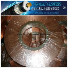 Hot Sale Polyester Insulation Cu / Pet Copper Foil pour câble coaxial