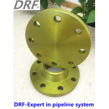 Yellow Painted Blind, Valve Flange