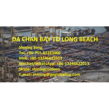 Shenzhen Da Chan Bay Sea Freight ke Amerika Long Beach