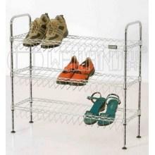 DIY Adjustable Chrome Shoe Rack Organizer Factory (CJ-C1132)