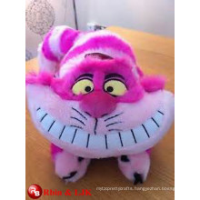 ICTI Audited Factory cheshire cat soft toy