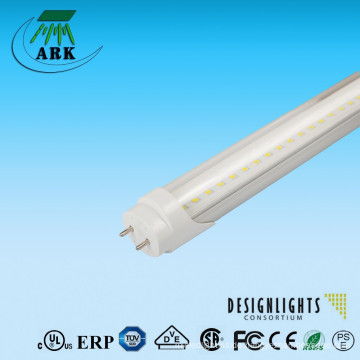 2015 HOT sale!! 5 years warranty clear/frosted cover 5000K DLC UL listed 4ft led tube light