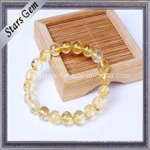 Various Size Natural Yellow Quartz Citrine Beads