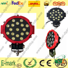 Luz de trabajo LED de 17PCS * 3W, Luz de trabajo LED IP67, Luz de trabajo LED de 6000k para camiones