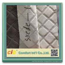 Fashion New Design Embroidery Suede with Foam
