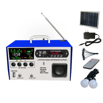 Lcd Solar FM lighting kits