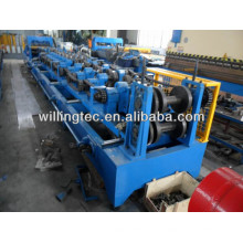 Einstellbare automatische Metallpfetten-Walzenformmaschine für den Bau