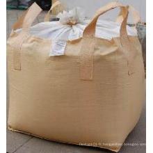Cross Corner Loops Bulk Bags FIBC pour la poudre de fer