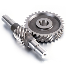 Factory manufacture direct customizable Stainless steel cnc turning parts worm gear shaft