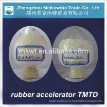 acelerador TMTD (CAS NO.:137-26-8) utilizados en la industria del neumático de goma
