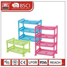 Plastic PP rack table rack for storage