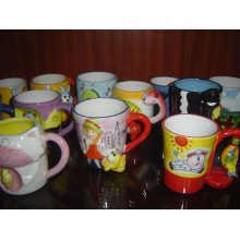 Ceramic Cup Hand Painting