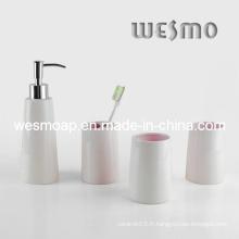 Accessoire de bain en porcelaine de qualité supérieure (WBC0604A)