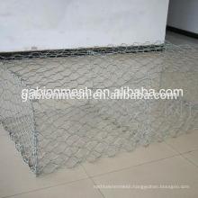 Factory supply galvanized square welded gabion mesh