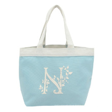 Waterproof polyester foldable Grocery Totes bag 600D oxford fabric shopping bag