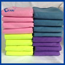 Solid Color Microfiber Suede Towel (QHME556)
