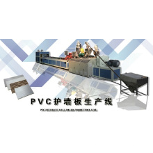 Ligne de machine de panneau de mur de PVC avec le CE et l'OIN