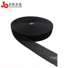 Ruban de matelas tissé pp en nylon noir 3mm-400mm personnalisé