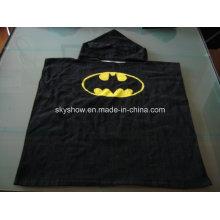 100% Cotton Batman Poncho Towel / Baby Robe