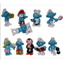 Figura de acción de plástico de alta calidad ICTI Navidad Cartoon Toy