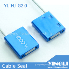 Tamper Evident Disposable Cable Seal with Laser Printing