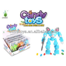 DIY Spaceman candy toys