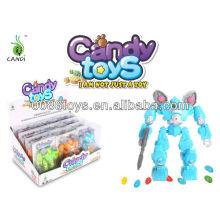 DIY Spaceman candy toys