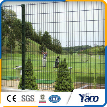 Factory price PVC Coated Welded square mesh Fence