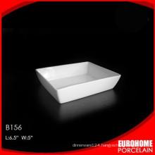 2016 new fashion design wholesale china ceramic white plate