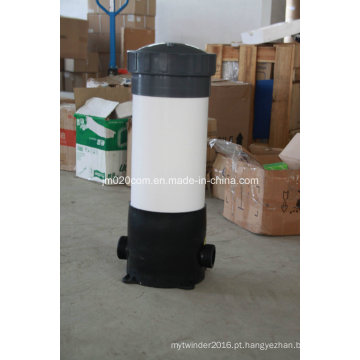 Carcaça plástica do filtro do filtro Carcaça do recipiente para o sistema industrial do tratamento da água