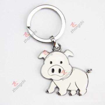 Corrente chave do costume do metal do porco bonés