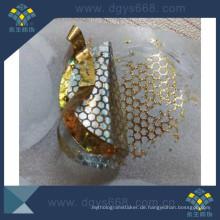 Bienenwabe Custom Tamper Evident Hologramm Sicherheit Aufkleber
