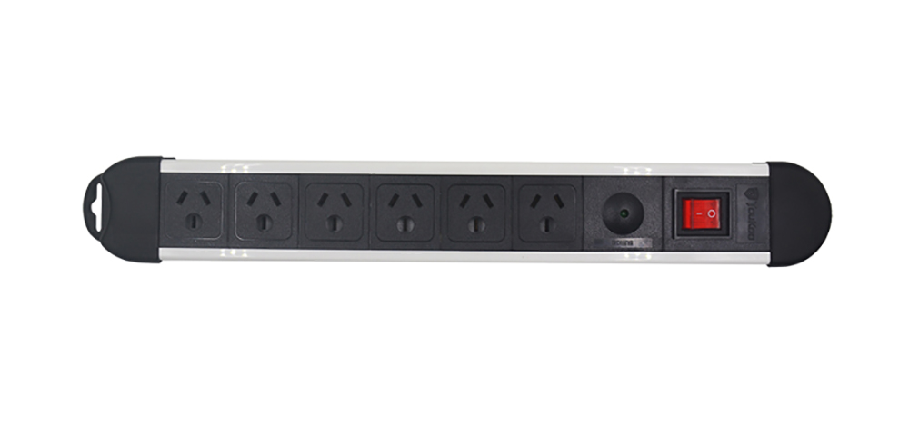6-Outlet Power Strip With Surge Protection