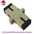 Sc Simplex Multimode Standard Fiber Optic Adapter