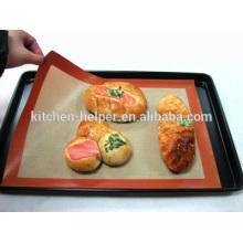 Alimento Anti-derrapante anti-derrapante Fiberglass Silicone Baking Mat