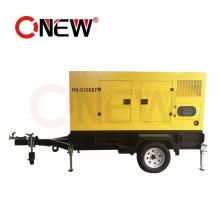 10-1000kVA Mobile Trailer Type Power Silent Diesel Generator with Wheels